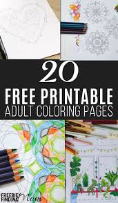 free coloring pages 20 printables