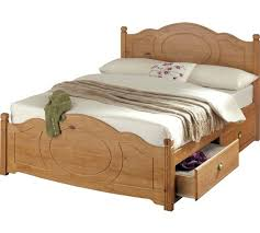 buy collection sherington double 4 drawer bed frame pine at