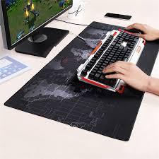 map pad aliexpress com buy large keyboard mat gaming mouse pad black