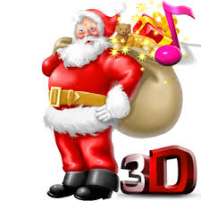 santa claus picture santa claus 3d live wallpaper android apps on play
