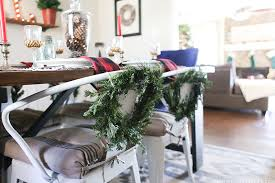 Christmas Dining Room Decorations - cabin inspired christmas tablescape mountainmodernlife com