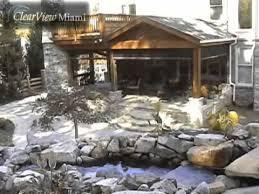 motorized screens miami patio u0026 garage door youtube