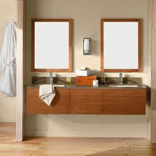 64 wall mount bathroom vanity set with ceramic