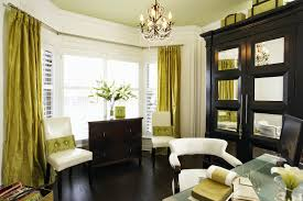 decorating small modern traditional bay window home office