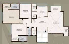 4671 sq ft 6 bhk floor plan image happy home group surat green