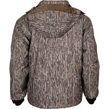Mossy Oak Duck Blind Camo Clothing Rocky Waterfowl Waterproof Insulated Camo Hunting Parka