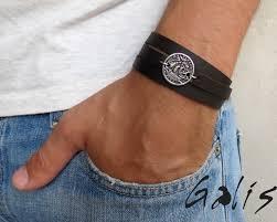 leather bracelets for men men u0027s bracelet men u0027s leather bracelet men u0027s coin necklace