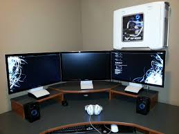 furniture furniture gaming station computer desk design with