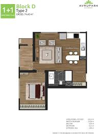 avrupark floor plan