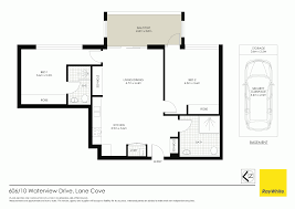 Waterview Condo Floor Plan by 606 10 Waterview Drive Lane Cove Nsw 2066 For Sale