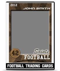 football u2013 trading card template teamtemplates