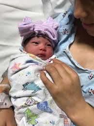 new years baby it s a girl baby born at cumc bergan mercy is the smallest omaha