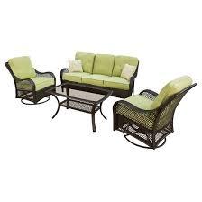 Patio Conversation Sets Under 300 Orleans 4 Piece Wicker Patio Conversation Furniture Set Target