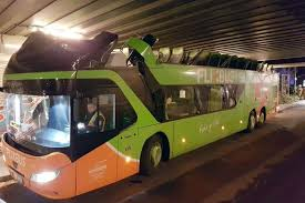 bridge too low roof torn off flixbus after driver takes wrong