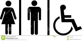 Bathroom Symbols Toilet Symbols Royalty Free Stock Photo Image 12884005