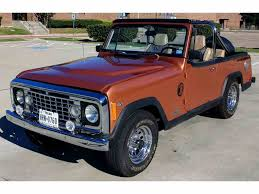 convertible jeep truck classic jeep commando for sale on classiccars com
