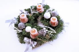 for how to make an easy advent wreath