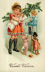 antique toys on free vintage christmas cards vintage christmas