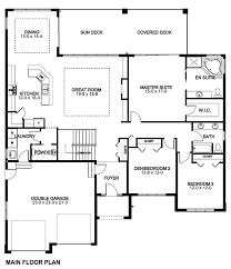Sunroom Floor Plans by First Floor Plan Of Mediterranean Ranch House Plan 96216 For The