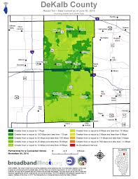 Illinois County Map Dekalb County Maps U2014 Broadband Illinois