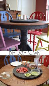 Dining Room Table With Lazy Susan by Diy Lazy Susan Dream A Little Bigger