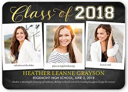 graduation announcement notable achievement 5x7 graduation announcements cards shutterfly
