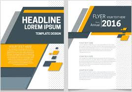 annual report template word annual report cover page free vector 6 530 free vector