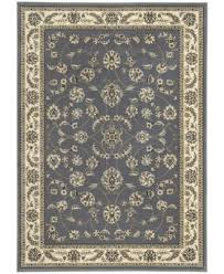 Kenneth Mink Area Rugs Kenneth Mink Florence Collection 4 Pc Set Isfahan Grey Blue Area