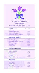 wedding bouquet prices how much do wedding flowers cost it just depends on the type of