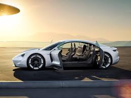 porsche porsche u0027s mission e all electric car features business insider