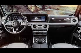 mercedes g wagon red interior mercedes benz reveals interior of redesigned 2019 g class