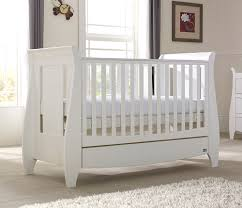 Sleigh Cot Bed Tutti Bambini Lucas Sleigh Cot Bed W Drawers Nursery Furniture