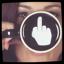 Funny Coffee Mugs Middle Finger Funny Coffee Mug Best Coffee Mugs