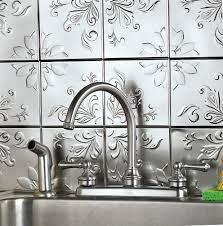 Kitchen Backsplash Stick On Miniature Peel U0026 Stick Backsplash Kitchen Bathroom Diy Wall