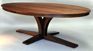 danish modern oval dining table oval dining room table with