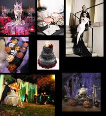orange and black halloween wedding ideas