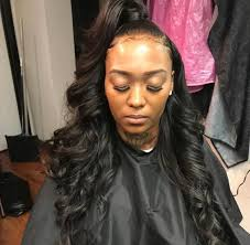 partial sew in hairstyles for synthetic hair 142 best half half hairstyles images on pinterest beautiful