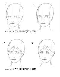 how to draw face drawing and digital painting tutorials online