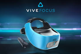 htc reveals standalone vive focus vr headset and cancels daydream