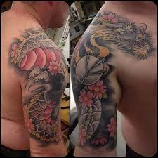 35 best medieval dragon shoulder tattoos for men images on