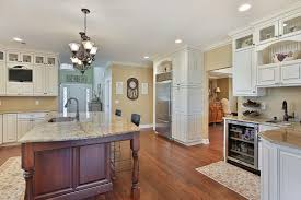 kitchen island countertop overhang relaxed casual kitchen point pleasant new jersey by design line