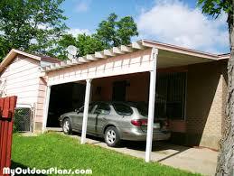 Building An Attached Carport Rectangular Gazebo Plans Free Carport Plans