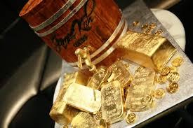 gold bar anniversary u2013 kue sera sera