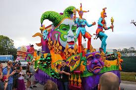 mardi gras float themes the of mardi gras 2014 as universal orlando hosts