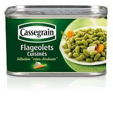 cuisiner les flageolets conserve de flageolets cuisinés sélection fondants cassegrain