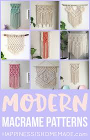 11 modern macrame patterns diy fan macrame patterns and macrame