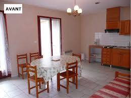 Relooking Salon Avant Apres Les Travaux De Décorations Chez Les Propriétaires D U0027hébergements