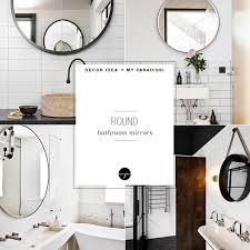 round mirror medicine cabinet decor trend round bathroom mirrors my paradissi