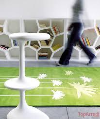 tappeti verdi tappeto moderno garden
