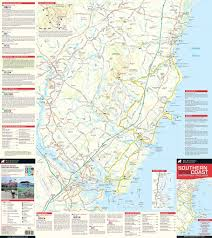 Atlantic Coast Map New Maine Southern Coast Map Adventures